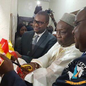 Inauguration de la prémière salle de marché au Mali à l'Université Sup'Management