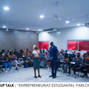 Conférence sur l'entrepreneuriat estudiantin [SUP'TALK]